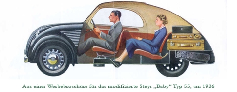 Steyr 50 Image: Deutsches Museum