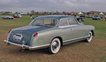 300b by Pininfarina. (c) mercedes-benz heritage