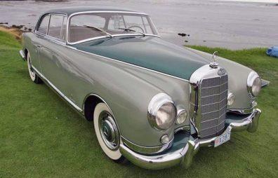 1955 Mercedes 300b by Pininfarina. (c) mercedes-benz heritage