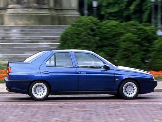 1997 Alfa 155. (c) bestcarmag
