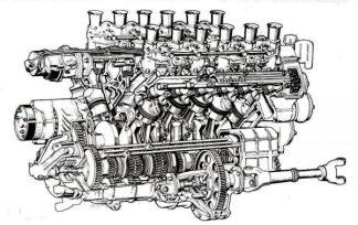 Lamborghini Miura powertrain. Giampaolo Dallara introduces Giotto Bizzarrinito Greek Al Image: auta5p.eu