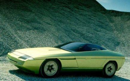 Corvette Ramarro. (c) Bertone SpA