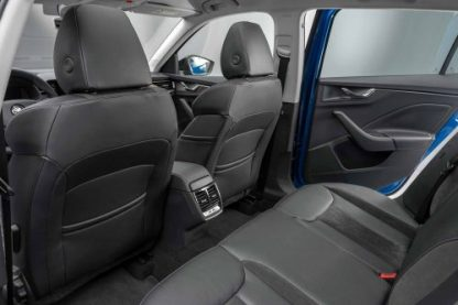 Spacious if monochrome rear cabin (Source: Motoring Research)