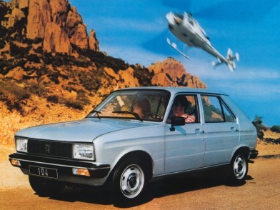 1978 Peugeot 104 five-door (c) autoevolution.com