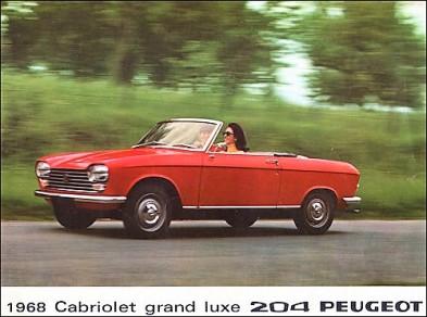 204 Cabriolet. Image: classiccarcatelogue