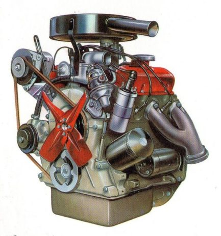 Ford Essex V4. Image: Ford of Britain